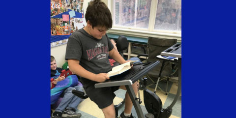 Pedal Desks & Flexible Seating at BCS