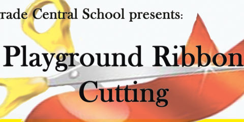 Playground Ribbon Cutting for BCS