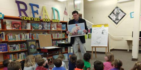 Kevin Hawkes visits BCS