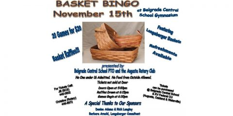 BCS Longaberger Basket Bingo, Nov. 15