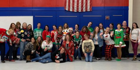 Ugly Sweater day at BCS